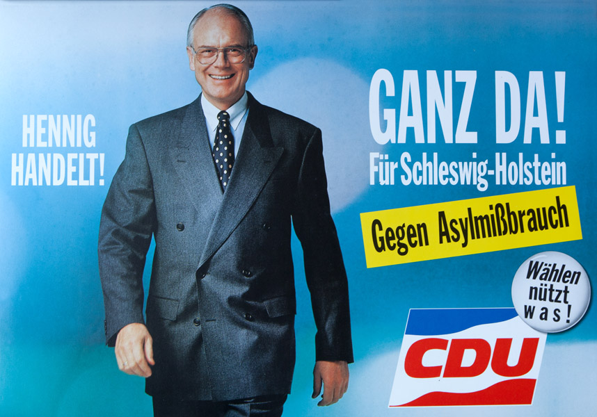 Plakat-Hennig-handelt