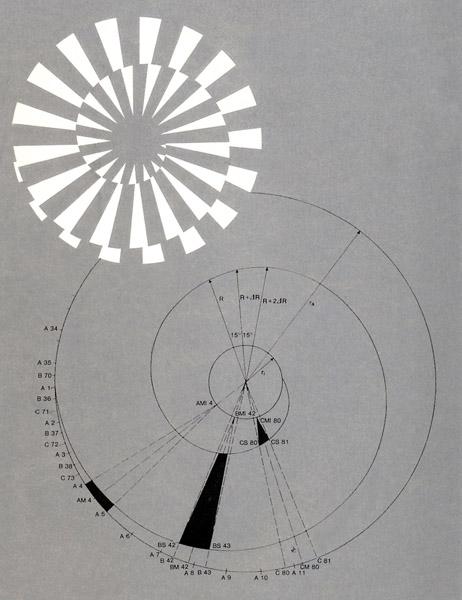 Spirale-und-Zeichnung
